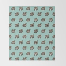 Cat Loaf - Brown Tabby Kitty Throw Blanket