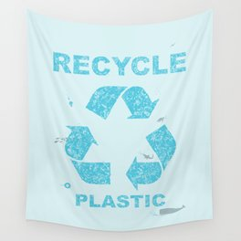Recycle Plastic Wall Tapestry