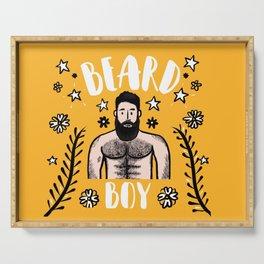 Beard Boy: Alejandro 2 Serving Tray