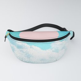 Adventure through the icy clouds Fanny Pack