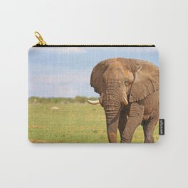 Big Elephant in Namibia Carry-All Pouch