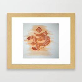 See Buddha in Everything Framed Art Print