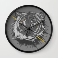 tiger. Wall Clock