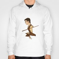 potter Hoodies featuring James Potter by Imaginative Ink