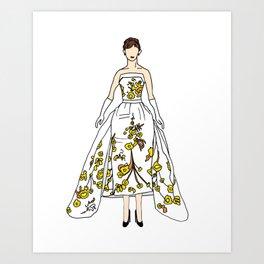Audrey 12 Art Print
