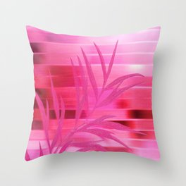 Silky Dawn Throw Pillow