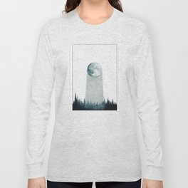 THE WANDERING MOON II Long Sleeve T-shirt