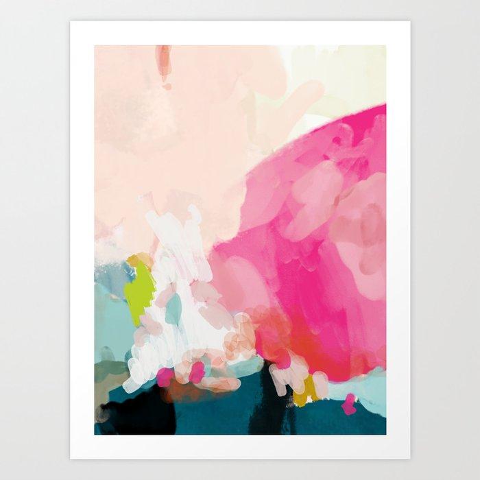 pink sky Kunstdrucke
