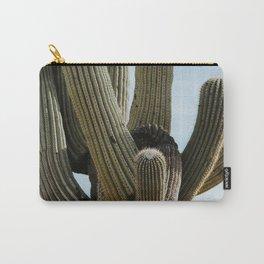 Saguaro Cactus - Color Carry-All Pouch