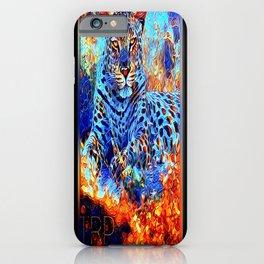 Big Cat Models: Leopard Laze 01-01 iPhone Case