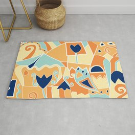 Landscape Abstract Day Rug