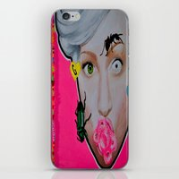 artrave iPhone & iPod Skins featuring artRAVE by Sabino Martinez