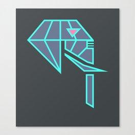 Diamond Elephant Canvas Print