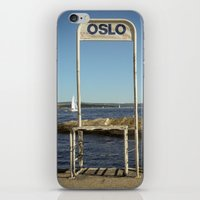 oslo iPhone & iPod Skins featuring Oslo by fedepallas