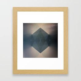 From The End To The Beginning Framed Art Print