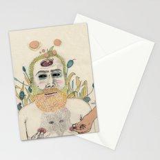 three men Stationery Cards
