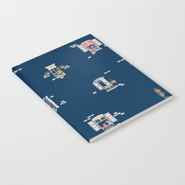 Paris Windows 2 Pattern Notebook