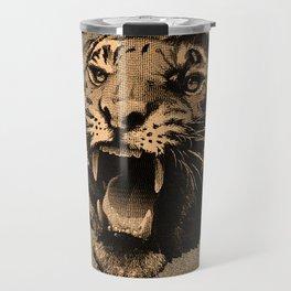 Vintage Tiger Travel Mug