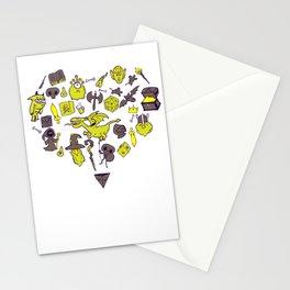 Gamer RPG Roleplayer LARP Kingdom Gift Stationery Cards