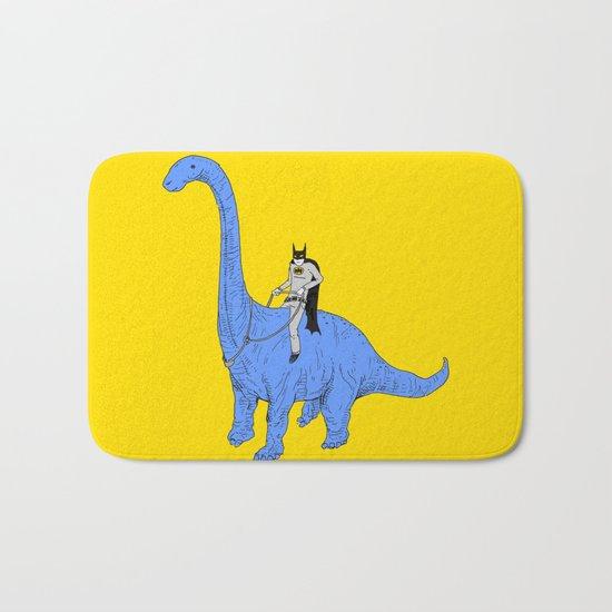 Dinosaur B Bath Mat