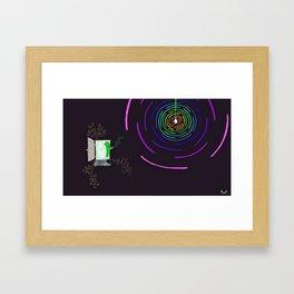 Light the Way Framed Art Print
