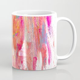 Party Streamers Abstract Painting Coffee Mug