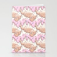 icecream Stationery Cards featuring icecream by QueenBees