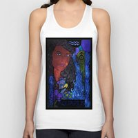 aquarius Tank Tops featuring Aquarius by Laura Jean