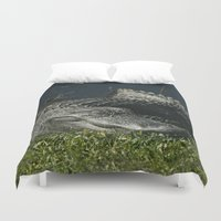 giants Duvet Covers featuring Let Sleeping Giants Sleep by Cindi Ressler Photography