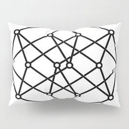 black line, prism art , wallpaper , case for iphone Pillow Sham