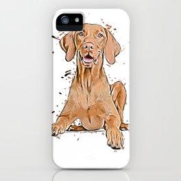 Magyar Vizsla iPhone Case