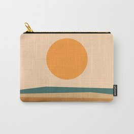 Abstract Landscape 10B Carry-All Pouch