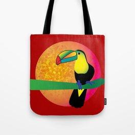 Toucan - Red Tote Bag