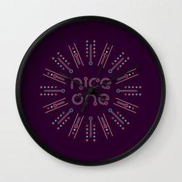 nice one Wall Clock