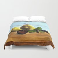 fruit Duvet Covers featuring Fruit by Ramari Tauroa-Tibble