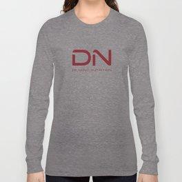 Crimson DN Logo Long Sleeve T-shirt