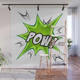 Manga Sound Effect - POW! Wall Mural