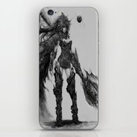 knight iPhone & iPod Skins featuring knight by ururuty