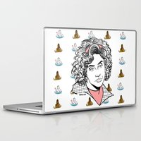 clueless Laptop & iPad Skins featuring Virgin Who Can't Drive by Maritza Lugo