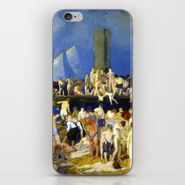 "George Wesley Bellows ""River Front"" iPhone Skin"