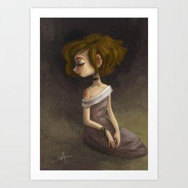 Bad Yogini 01 Art Print