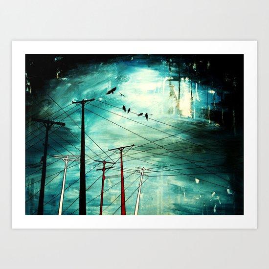 connect Art Print