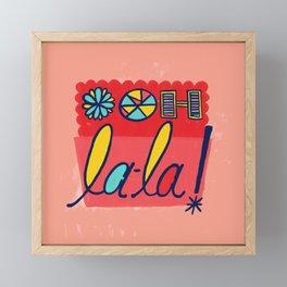 Ooh La-la! Framed Mini Art Print