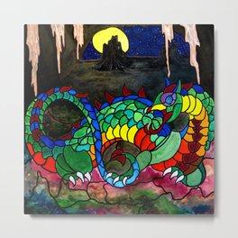 Draco, Dragon of the North Metal Print