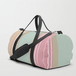 Stripe Pattern IX Duffle Bag