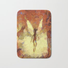 Abstract Art by Tito. Angel Bath Mat