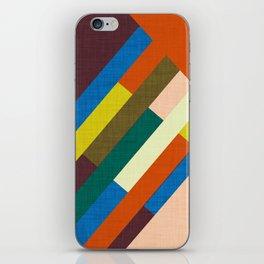 Meridian Orange #homedecor #midcenturymodern #midcentury iPhone Skin