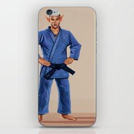 Karate Elf iPhone Skin