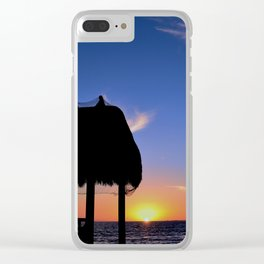Florida Keys Sunset Clear iPhone Case