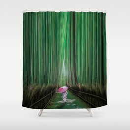 Arashiyama, Kyoto Japan Shower Curtain